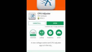 How To Adjust CPU for Android Phone - CPU Adjuster