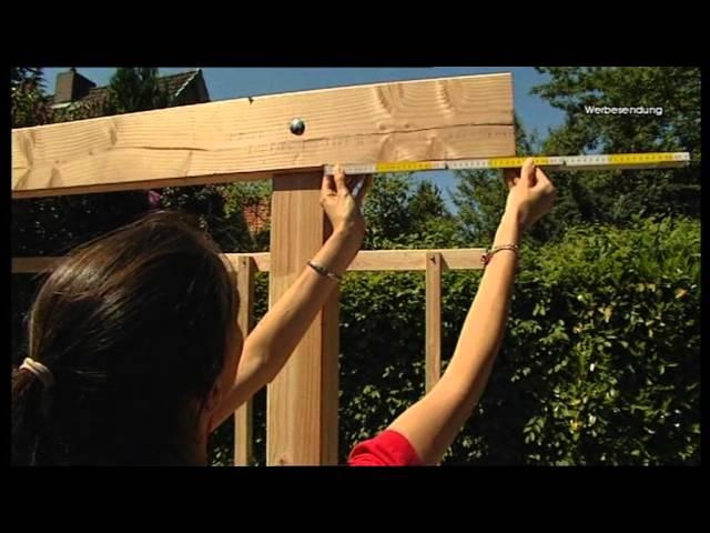 TerrassenUberdachung Holz Hagebaumarkt ~ Ein Carport selber bauen  Tipps und Tricks von hagebaumarkt