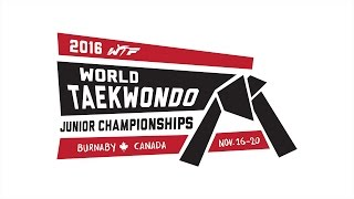 2016 World Taekwondo Junior Championships - Day 5 (Semi-finals, Finals, Award Ceremonies)