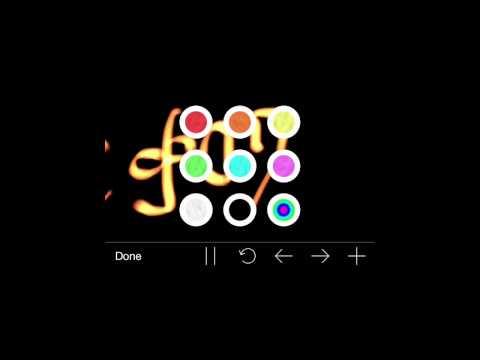 UYH iphone app help color handwriting E1S5 አይፎን የሚያምር የእጅ መጻፍያ