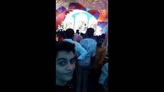 Selfie Video Of Durga Puja Pandle (2016)  - ( Baikali Sangha) at Natore, Bangladesh