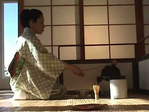 Japanese Tea Ceremony Tea At Koken WITH SOUND