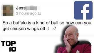 Top 10 Dumbest Facebook Posts – Part 5