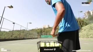 Beyond Starac Arabia Fadee Andrawos Tennis - فادي اندراوس يلعب التنس