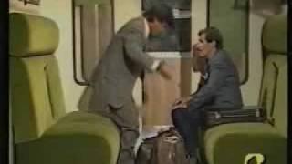 scocciatore in treno