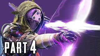 Destiny The Taken King Walkthrough Gameplay Part 4 - Nightstalker Subclass - Mission 4 (PS4)