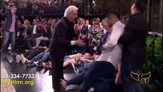 Benny Hinn - Glorious Anointing Falling on Young People