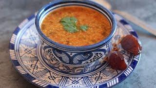 Soupe d'orge et tomate