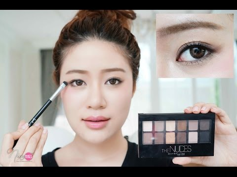 Xxx Mp4 HOW TO แต่งตาโทนนู้ด Bare Nude Look ด้วย Maybelline The Nudes Palette NinaBeautyWorld 3gp Sex