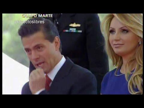Peña Nieto hace el ridículo frente a Presidente de Colombia