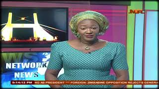 NTA Network News With Elizaberth  Stober at 9:00pm 03/08/2018