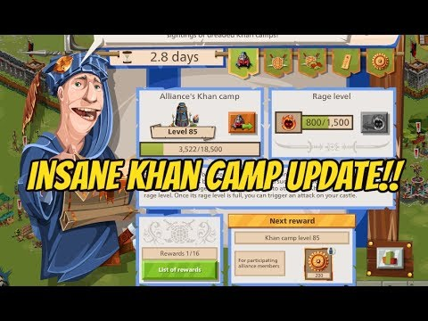 Khan Camp Update! | Insane Nomad Update in Goodgame Empire!!