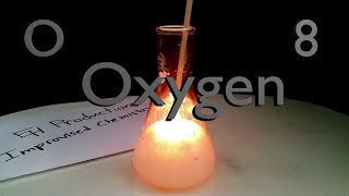 Make Oxygen Gas with Household Materials (Chemistry Experiment) Full HD