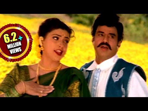 Xxx Mp4 Peddannayya Movie Chikkindi Chemanthi Video Song Balakrishna Indraja Roja 3gp Sex