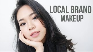 Full Face Indonesia Local Brand Makeup & Review | Eng Sub