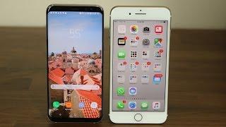 iPhone 7 Plus vs Samsung Galaxy S8+ Plus: Full Comparison