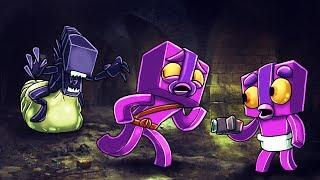 Do NOT Play Minecraft - MOTHER ALIEN ATTACKS! (Top Secret Gameplay) #3