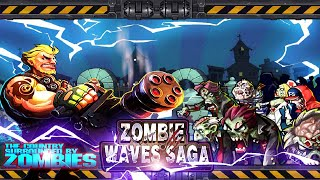 Zombie Waves Saga Android Gameplay Trailer 720p [HD]