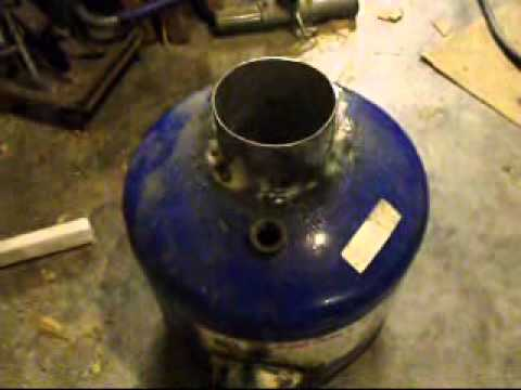 Building a Rocket Stove Start To Finish