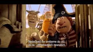 Piráti / The Pirates! Band of Misfits (2012) - český trailer