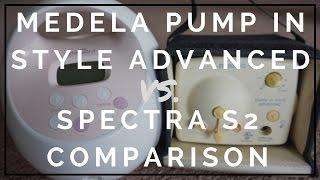 Medela Pump In Style Advanced VS. Spectra S2 Comparison // Momma Alia