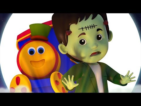 Bob The Train | Halloween | Scary Nursery Rhymes For Children | Videos For Toddlers By Kids Tv