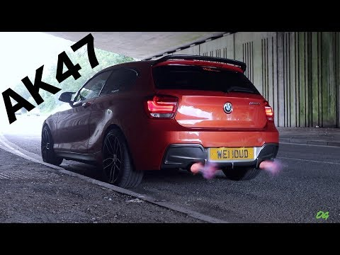 THIS IS ONE CRAZY FLAME THROWING BMW M135I