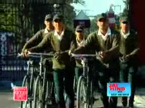 Training in Indian Military Academy