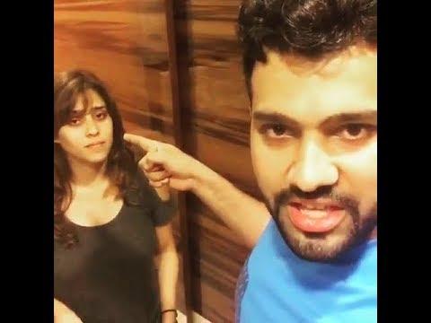 Xxx Mp4 Rohit Sharma And His Wife Ritika Sajdeh Funny Video Rohit Sharma And Ritika Sajdeh 3gp Sex