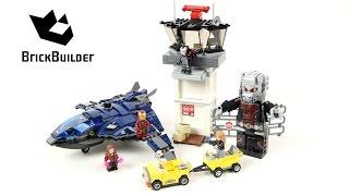 Lego Super Heroes 76051 Super Hero Airport Battle - Lego Speed Build