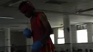 Knock Out Fight WUSHU#sanda Below 52kg Balkaran Bathinda (Red side)
