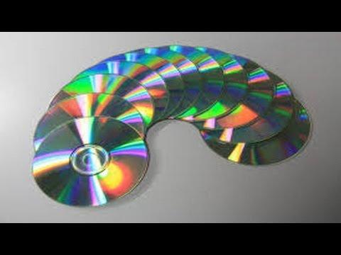 17. Manualidades Colgante decorativo Reciclaje de CD Ecobrisa.