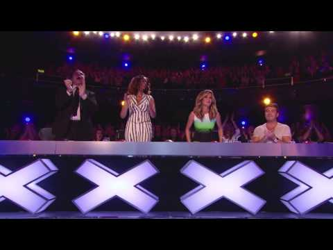ALL judges shocked Boys Shocked People in the hall Britain s Got Talent 2014