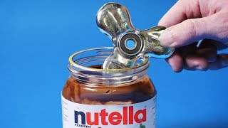 EXPERIMENT Fidget Spinner VS Nutella