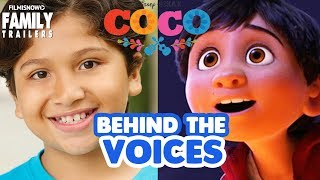 COCO | Behind The Voices of the Disney Pixar Animated Movie
