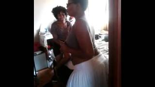 African Booty Shake mature woman