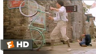Bike Attack - Jackie Chan's Project A (5/10) Movie CLIP (1983) HD