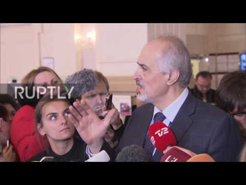 Kazakhstan: Jaafari says Syrian govt. wouldn't have come without Russia as guarantor