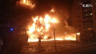 VL.ru - Пожар в супермаркете
