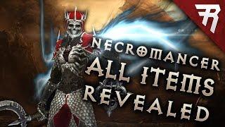 NECROMANCER GAMEPLAY: All Legendary Items! (Diablo 3 2.6 beta)