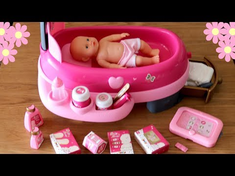 Baby Dolls Electronic Nursery Center - Baby Annabell Lil Cutesies Syringe Injection Taking Medicine