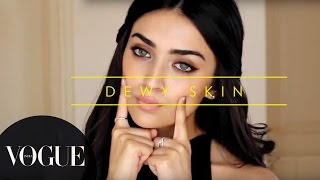 How To Get Dewy Skin? | Vogue Beauty Goals with Lizah ● Makeup Tutorial | VOGUE India