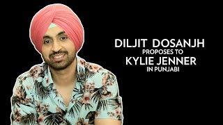 Diljit Dosanjh Proposes To Kylie Jenner