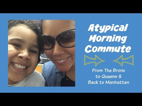 A Working Mom's Morning Commute in NYC