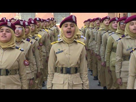 Xxx Mp4 Pakistan S Girl Cadets Dream Of Taking Power 3gp Sex