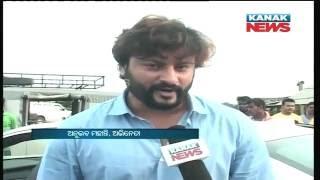 Anubhav Mohanty In Shooting Set of