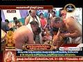 Download Video Download sri devi sarannarathri mahotsavam, warf road, nava kanyalu pooja, 9th day @ tadepalligudem, part 1 3GP MP4 FLV