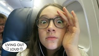 Horrible Landing in California!! | Travel Vlog | Travel Adventures & Road Trips
