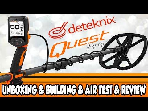 Deteknix Quest Pro Metal Detector Review