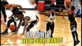 Julian Newman CRAZY 35 POINTS! Hits 8 THREES from NBA RANGE in 1st Game of Season!!